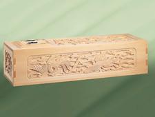 天然檜平インロー総彫刻