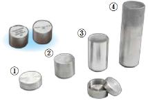 4種類のカプセル